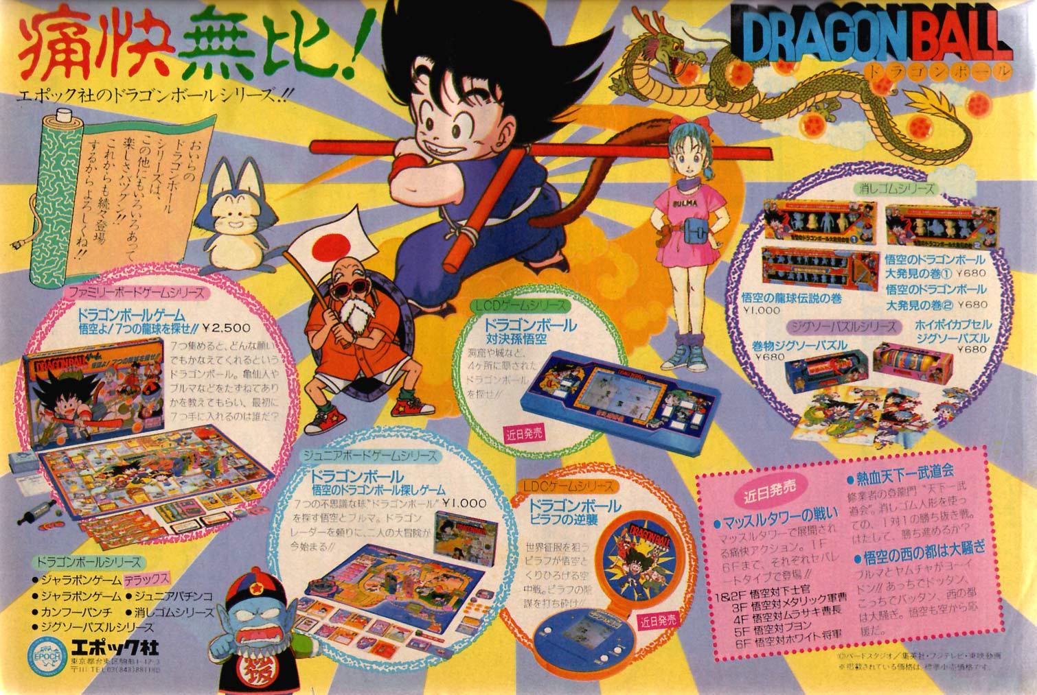 Dragon Ball-Todos los videojuegos Scan_wsj1986-37
