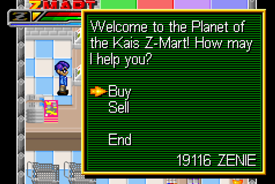 Kaioshinkai Z-Mart Buu's Fury