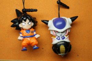 Bonequinhos - Goku e Freeza!