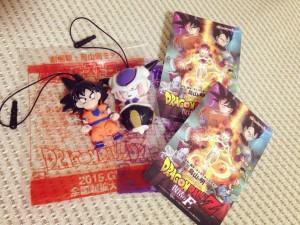 Ingressos e Bonequinhos de Dragon Ball Z Fukkatsu no 「F」!
