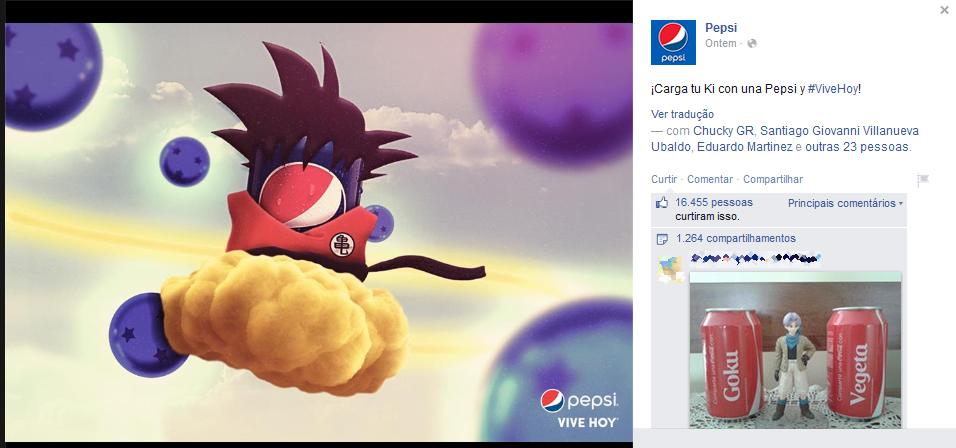 30 anos de Dragon Ball - Pepsi México